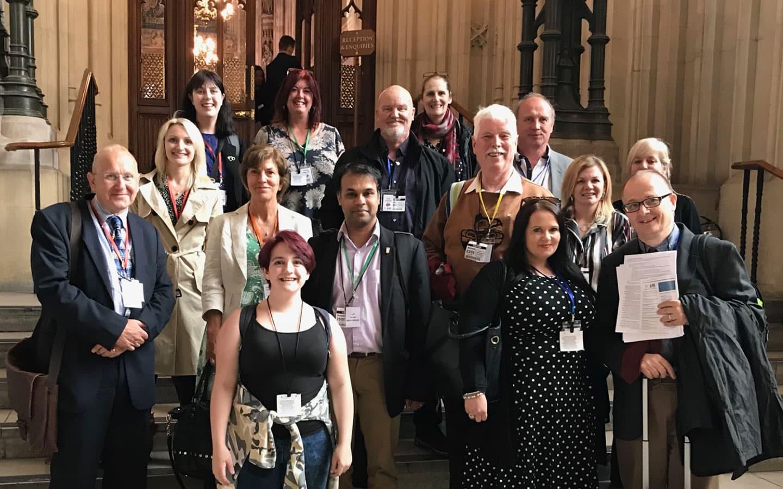 National FASD team at parliament