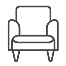 National FASD icon armchair