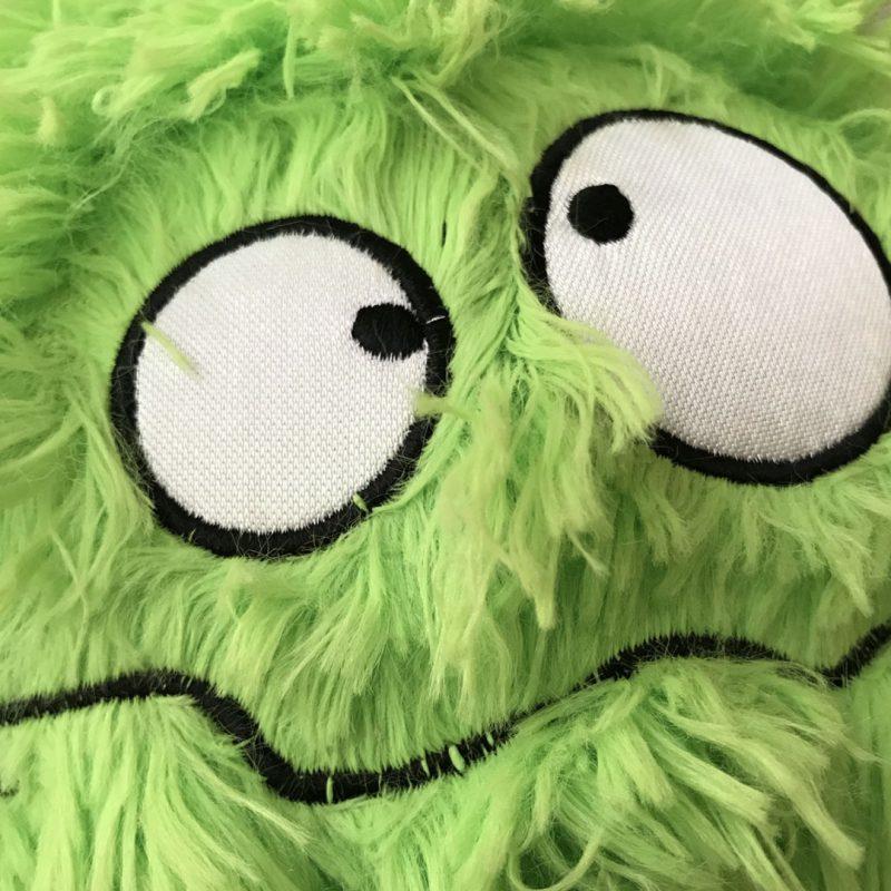 Green fury monster